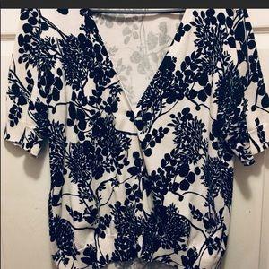 Talbots Short Sleeve Cardigan Size XL EUC